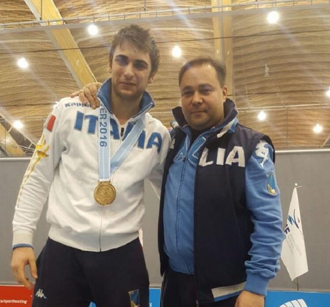 Enrico Garozzo medaglia d'oro a Vancouver