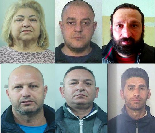 """I sei arrestati dell'operazione """"Nero infinito"""""""