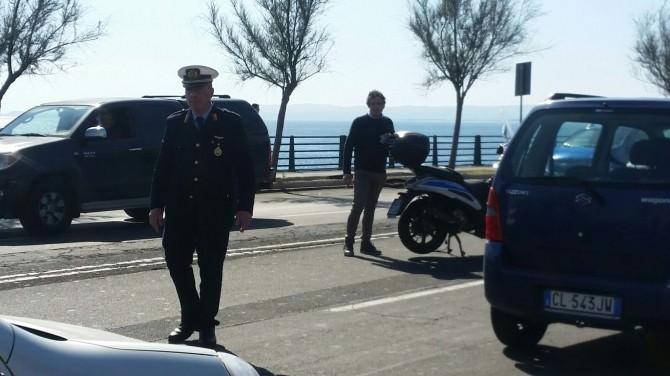 Incidente davanti l'Hotel Nettuno a Catania, l'undicesimo in una mattinata