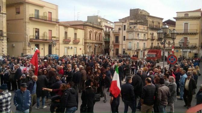 Manifestazione Francofonte 2