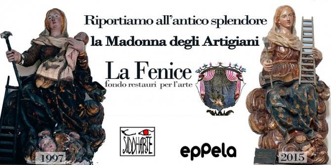 """Milazzo: associazione """"La Fenice"""" restaura Madonna degli Artigiani"""