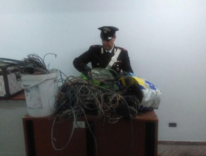 Ruba circa 70 Kg di rame, arrestato 47enne3