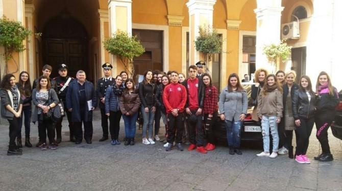 Visita comando provinciale Carabinieri