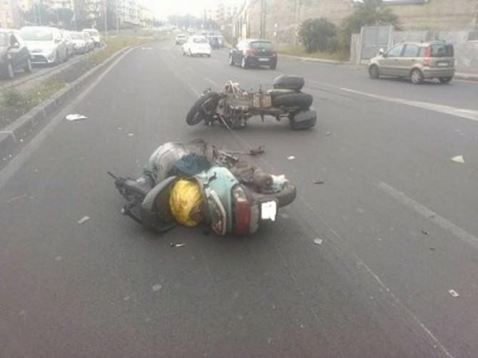 Grave incidente sulla Circonvallazione di Catania: due i feriti