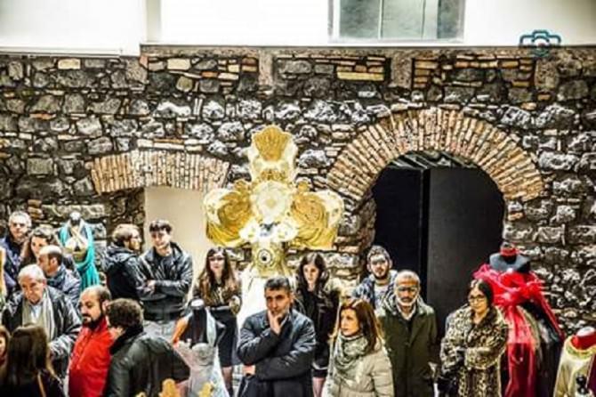 "Inaugurata la mostra ""Agata Anima Mundi"""