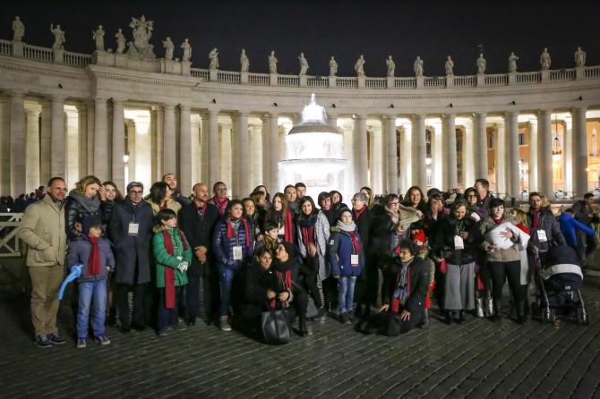 foto delegazione Catania in San Pietro grande