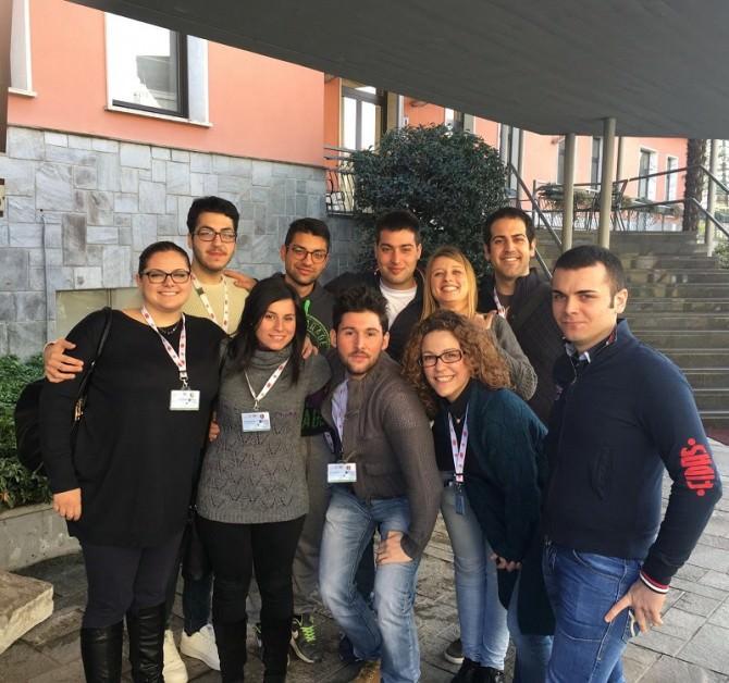 Meeting nazionale giovani Fidas: presenti tre volontari di Gela