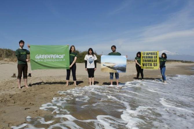 """""""L'Italia non si travella"""", Greenpeace pronto a combattere"""