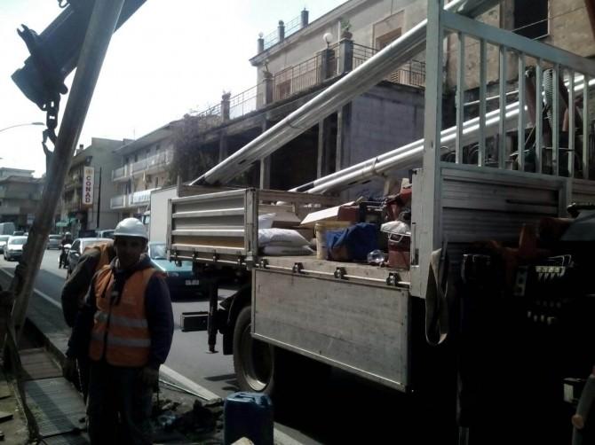 Catania, manutenzione straordinaria della pubblica illuminazione