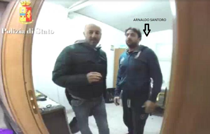 L'arresto di Santoro a Siracusa