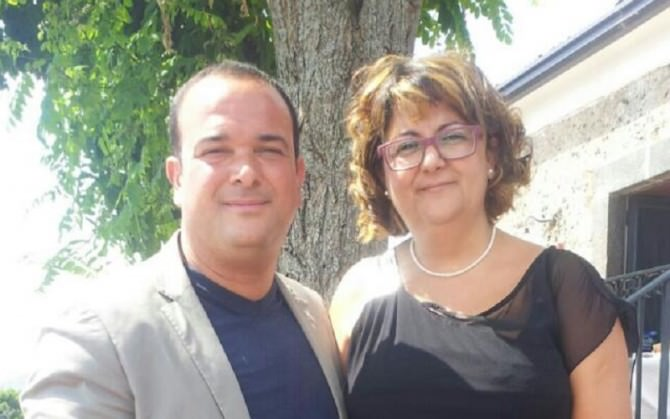 Melia e Nuccio, lavoratore Almaviva