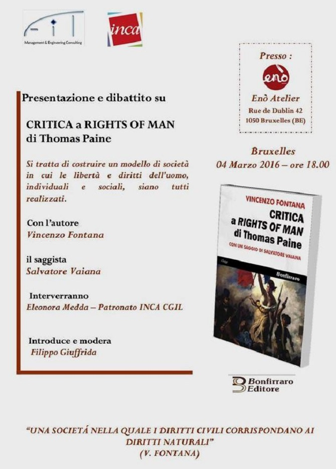 Critica a Rights of man di Paine (1)