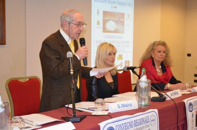 Al centro la dottoressa Aurelia Billa, neo direttore di Anpec Sicilia