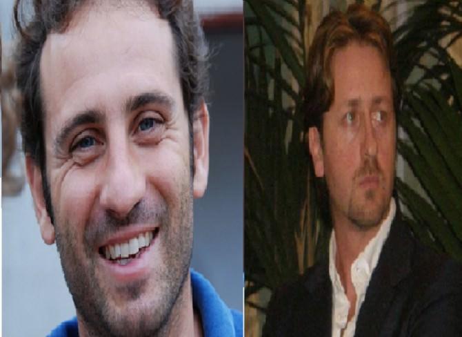 A sinistra il consigliere Notarbartolo e a destra il consigliere Messina