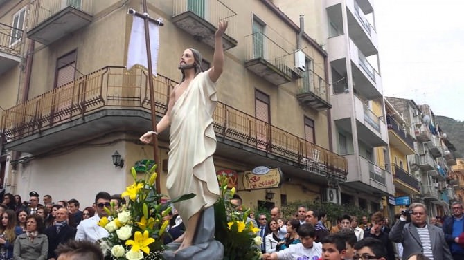 processione San Michele di Ganzaria