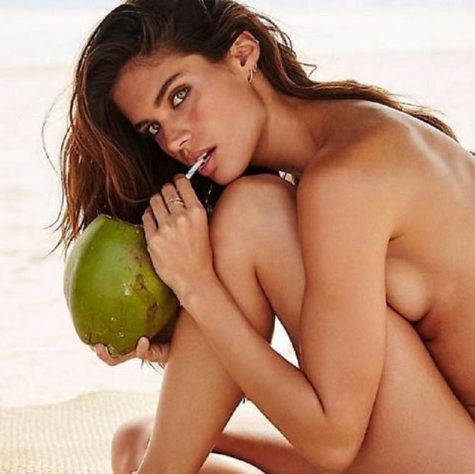 Sara Sampaio, l'angelo di Victoria Secret's nuda per Vogue Spagna