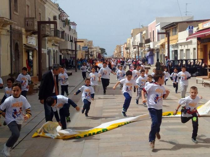 """""""Vivicittà"""" a Lampedusa. Nicolini: """"Sono orgogliosa della mia città"""""""