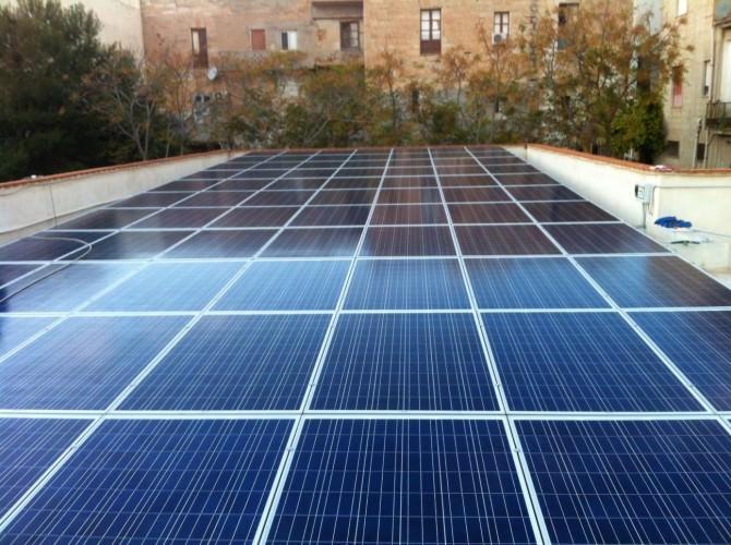 Impianto fotovoltaico scuola Lampedusa
