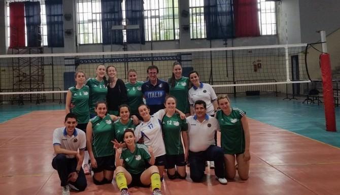 La squadra femminile del Vaccarini neo campione provinciale dei CS 2015-2016