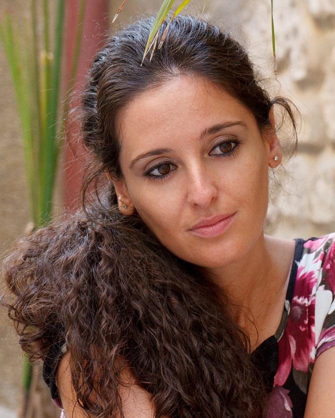L'autrice Maria Pia Risa