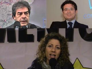 Silenzio e Muti Antonello Montante, Enzo Bianco (Catania), Maria Concetto Di Pietro (Augusta)