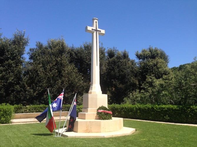 Anche Catania ricorda i caduti ANZAC in Sicilia