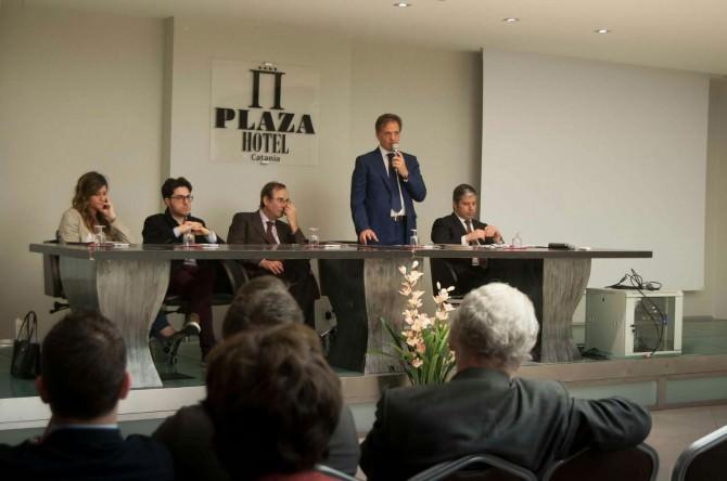 Nella foto da sinistra Ricotta, Vitale, Calì, Buscema e Caramagno