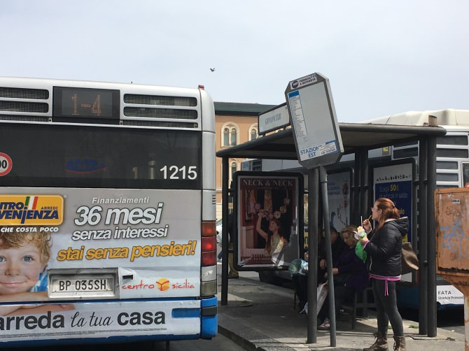 Fermata Amt autobus Giovanni XXIII