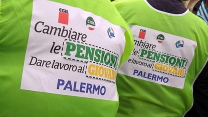 pensioni protesta sindacati disoccupazione giovani
