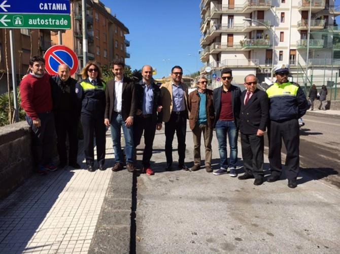 sindaco rando e amministrratori via carnazza (1)