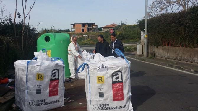 """Vasche di eternit, bonificata via Antonino D'Agata. Zingale: """"Partecipazione dei cittadini fondamentale"""""""