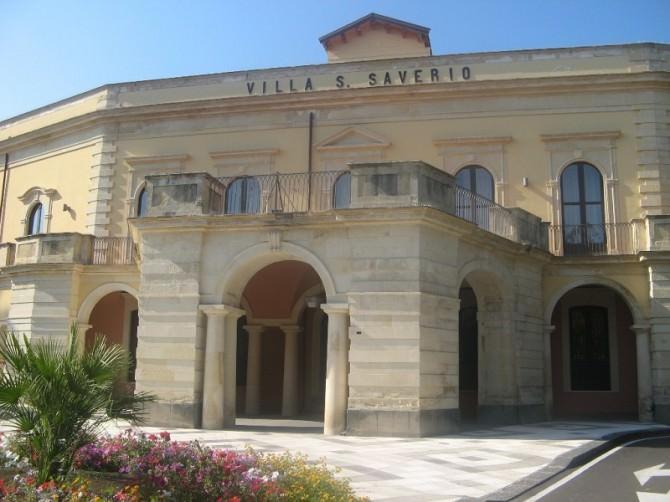 villa san saverio ingresso