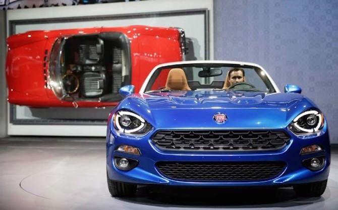 LA  Auto Show Fiat