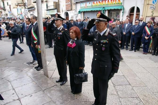 Commemorazione comandante Basile