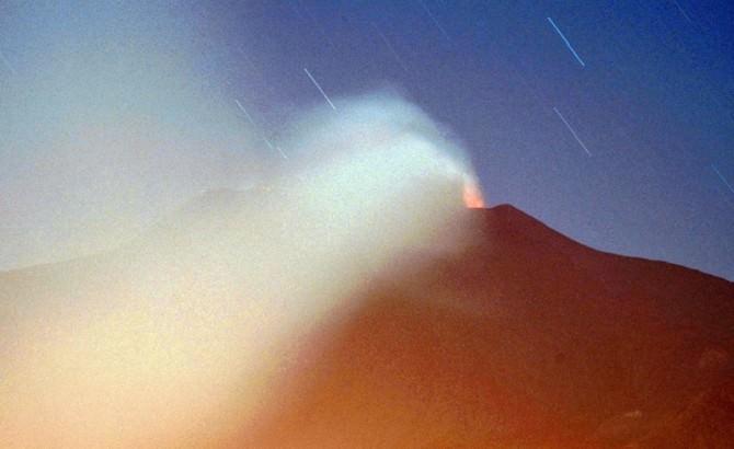 Etna in eruzione. Scatto di Turi Caggegi