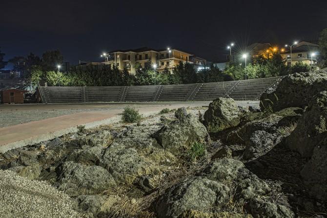 Il Parco Urbano con la nuova illuminazione
