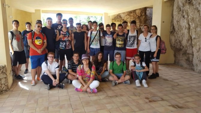 Isola Bella studenti Archimede