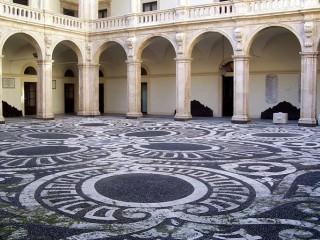 Palazzo centrale Cortile