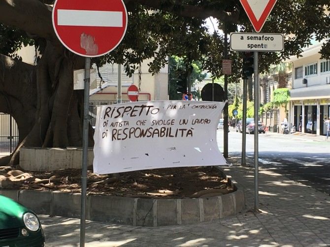 Protesta dipendenti Amt