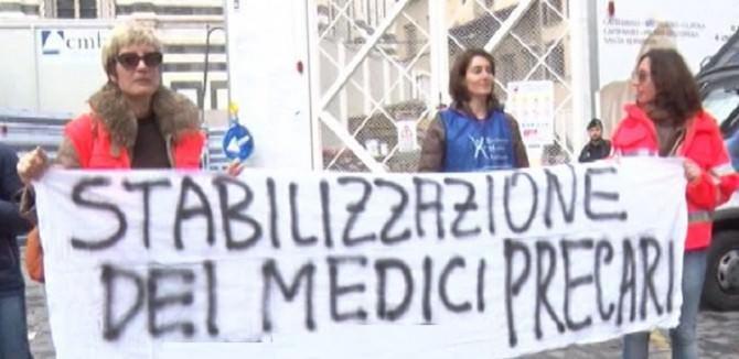 Protesta-medici-precari