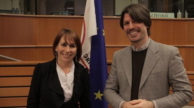 Tiziana Beghin e Ignazio Corrao (europarlamentari M5S)