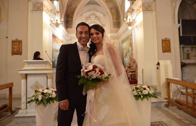 Giuseppe Regalbuto e Anna Guerrera sposi