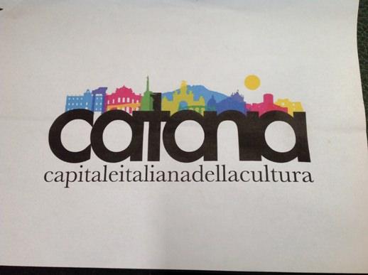 logo Catania Capitale Italiana Cultura