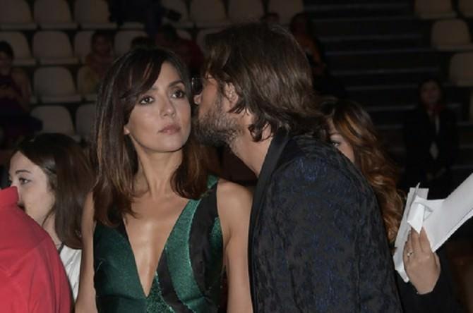 Ambra Angiolini e il suo nuovo compagno al Taormina Film Festival