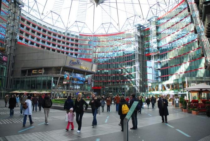 Urbanistica, Sony Center di Berlino