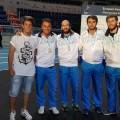 Foto Enrico Garozzo e Paolo Pizzo argento a squadre agli Europei 2016