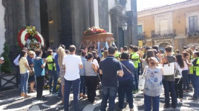 Funerali Rosario Zappalà