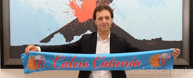 Il nuovo allenatore del Catania, Pino Rigoli (53)