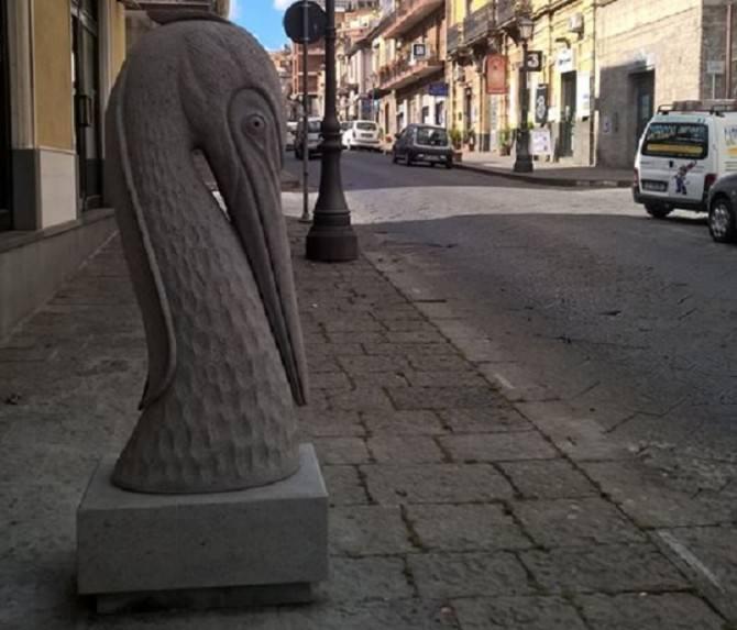 """Belpasso """"città delle cento sculture"""": collocate altre 4 statue"""