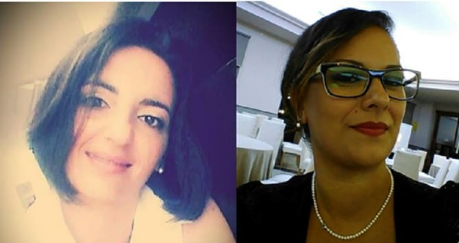 Da sinistra: l'avvocato Rosa e Maria Grazia Difede